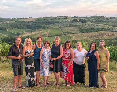 Tuscany first tour group