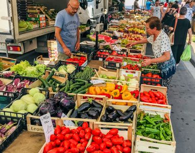 Tuscany market tour